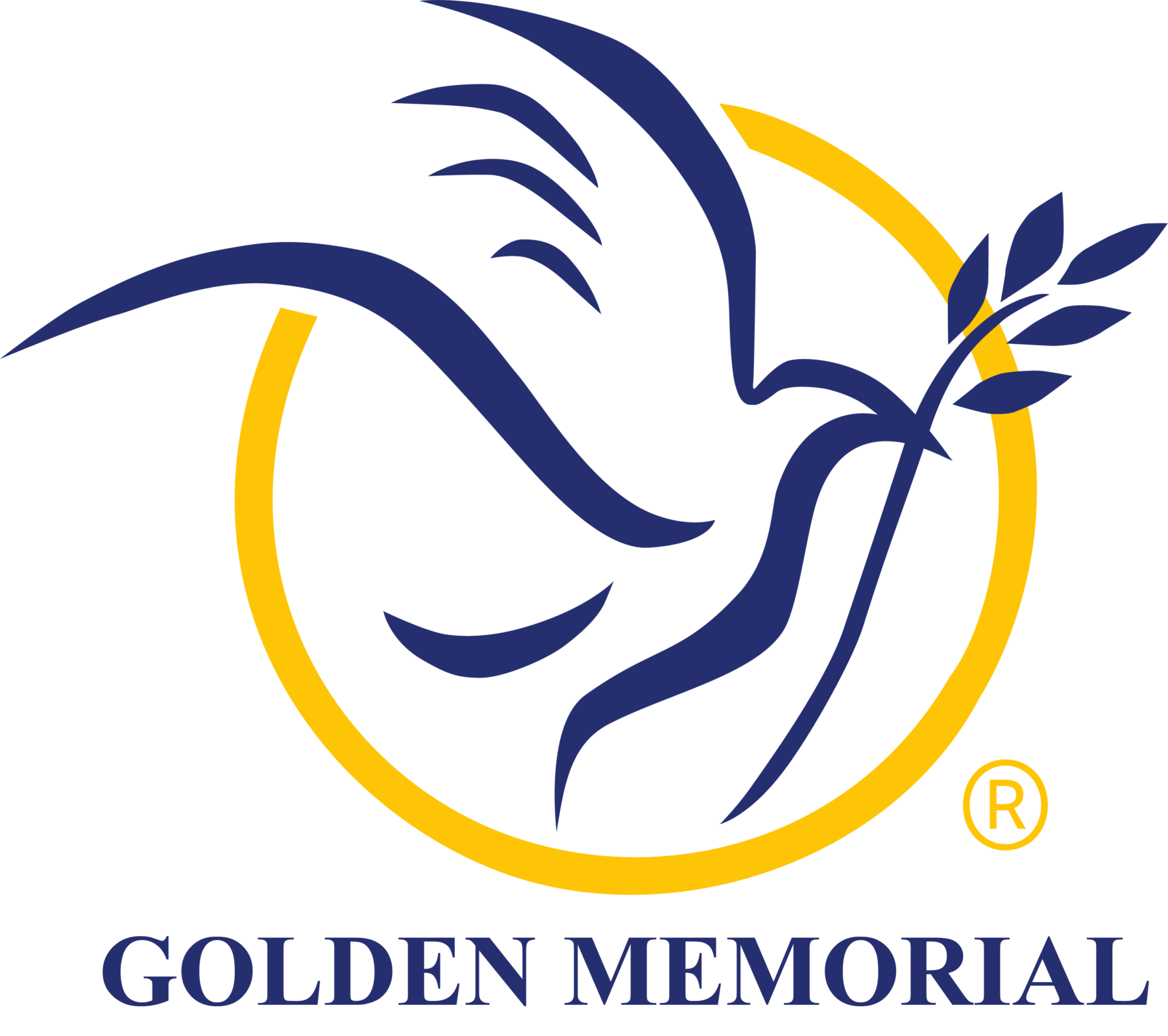 golden memorial logo
